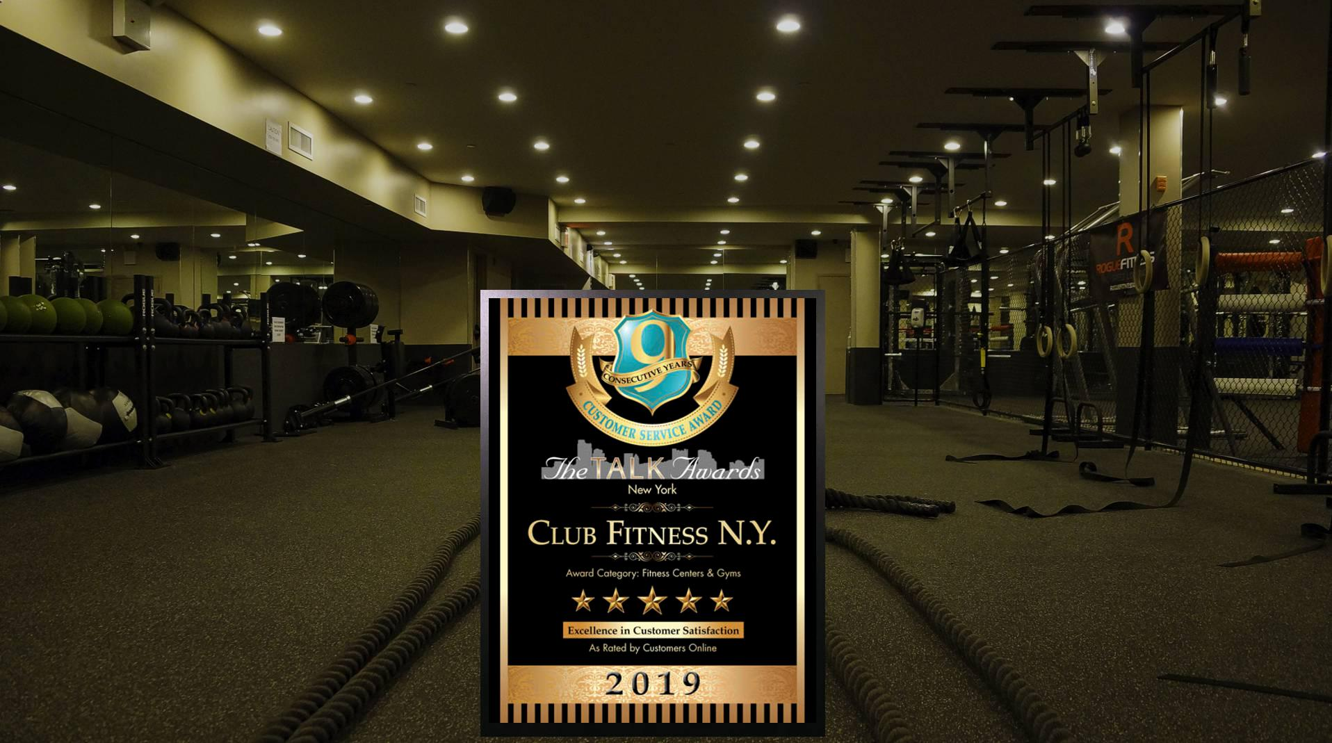 Voted Best Gym in Queens<br/><strong>9 Years in a Row! </strong>